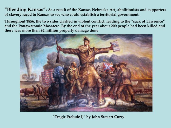 """Bleeding Kansas"":"