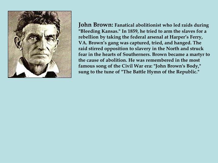 John Brown: