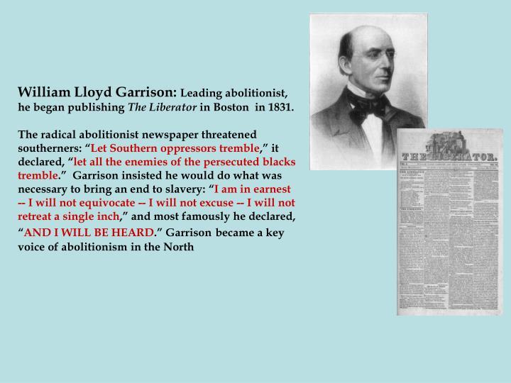 William Lloyd Garrison: