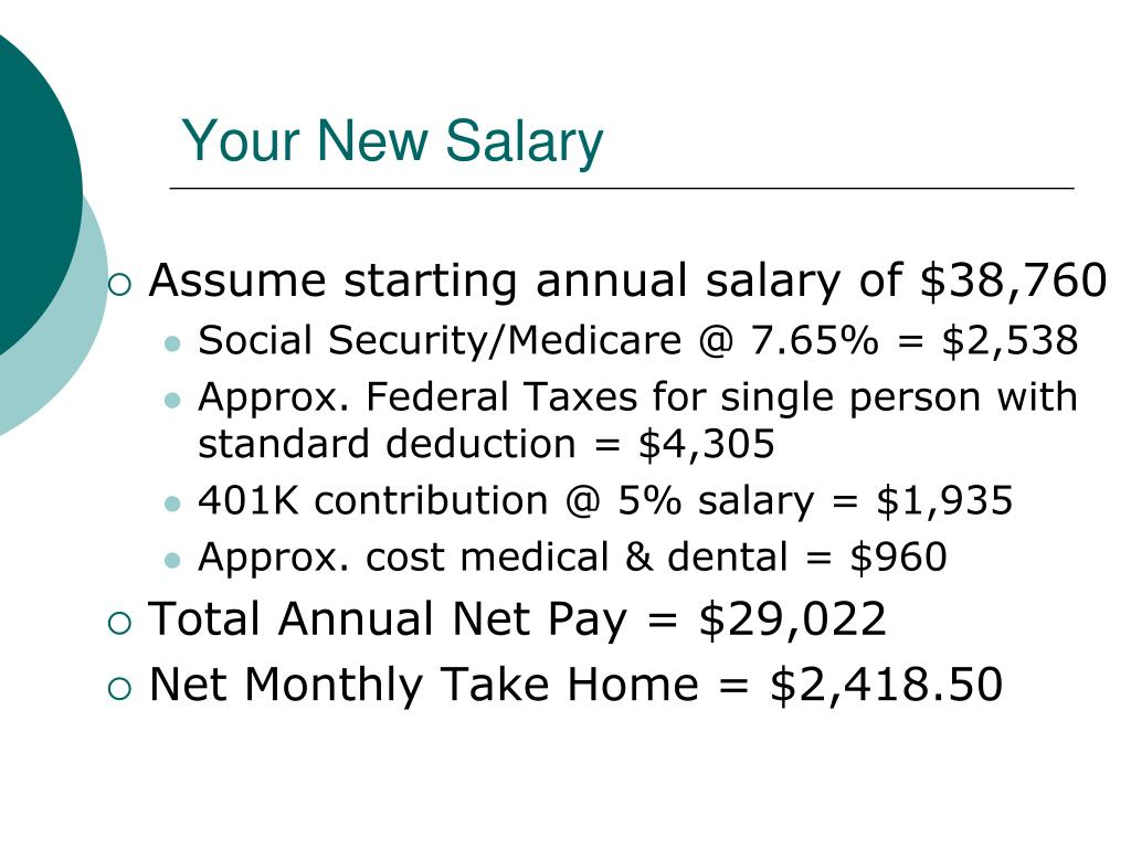 Your New Salary