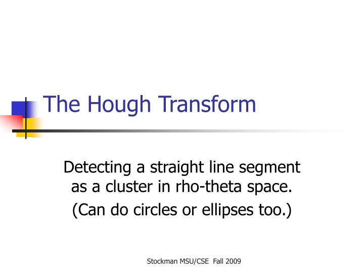 The Hough Transform