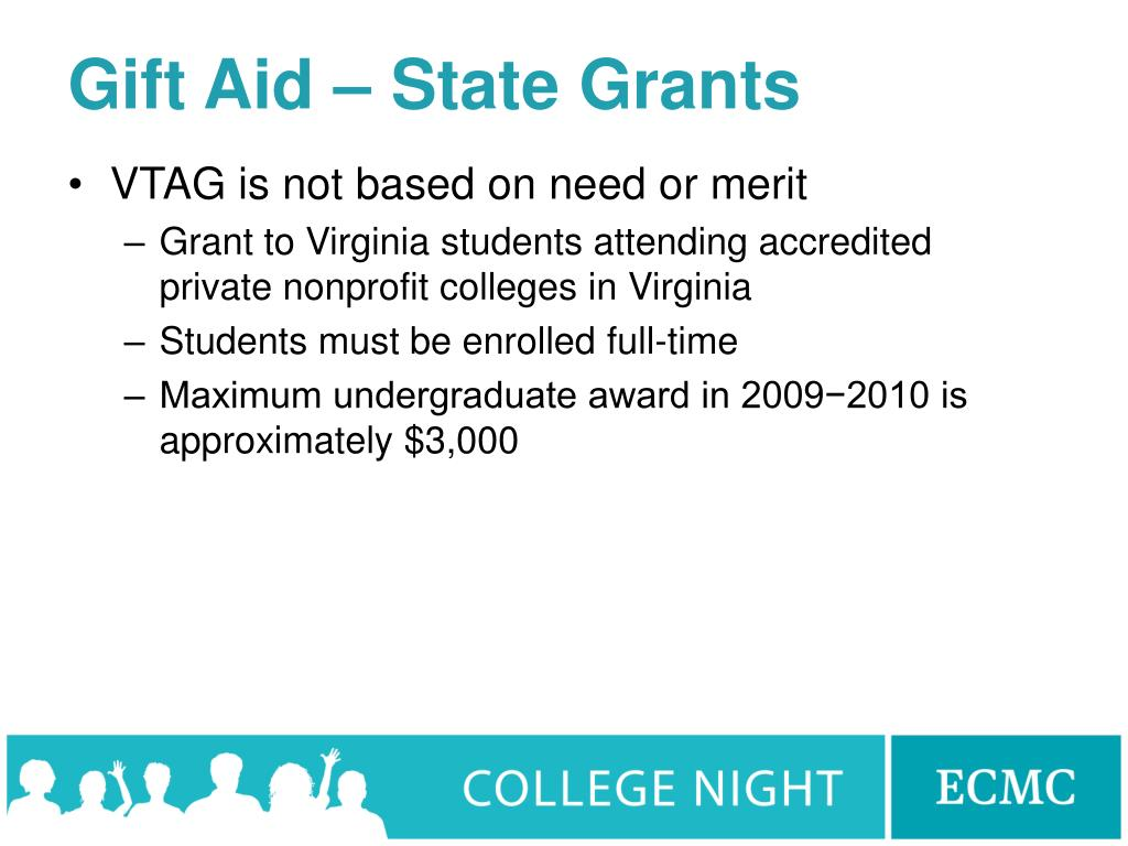 Gift Aid – State Grants