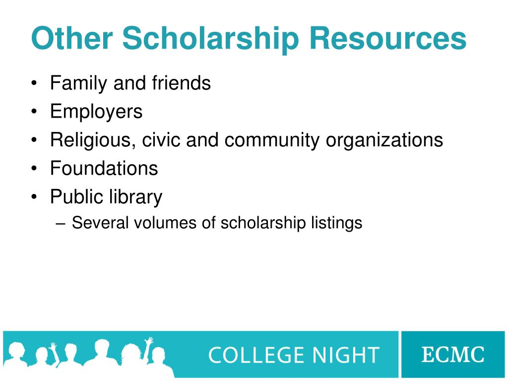 Other Scholarship Resources