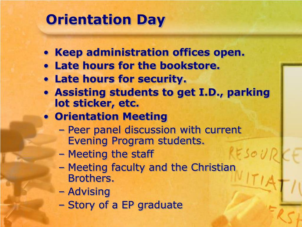 OrientationDay