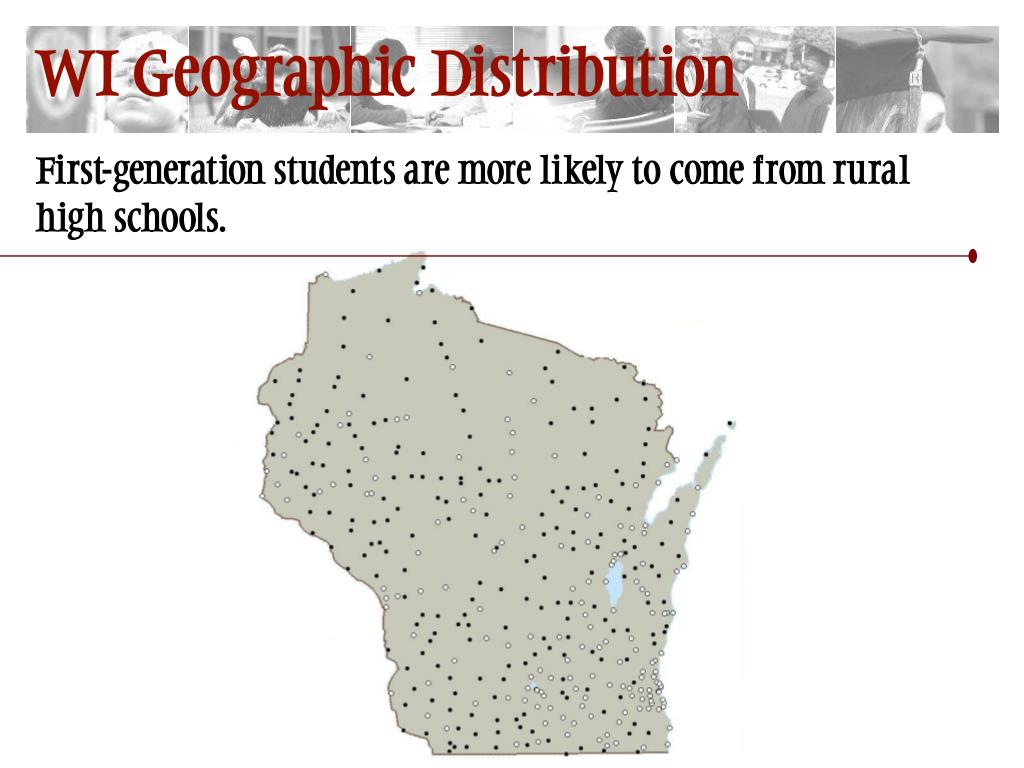 WI Geographic Distribution