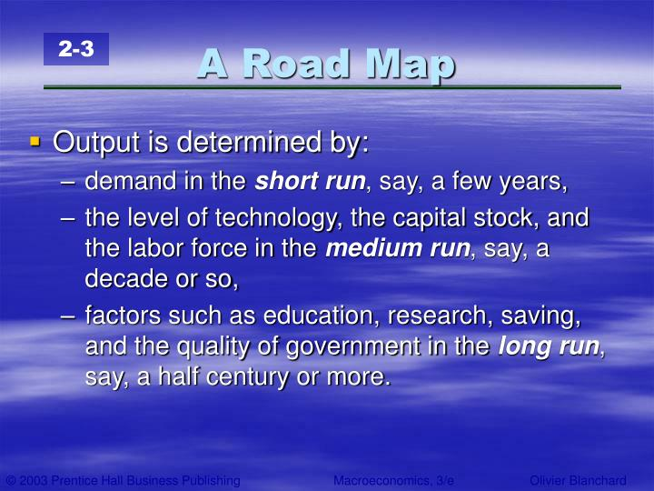 A Road Map
