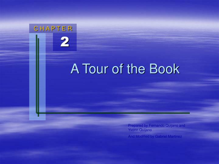 a tour of the book