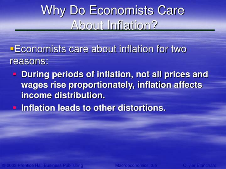 Why Do Economists Care