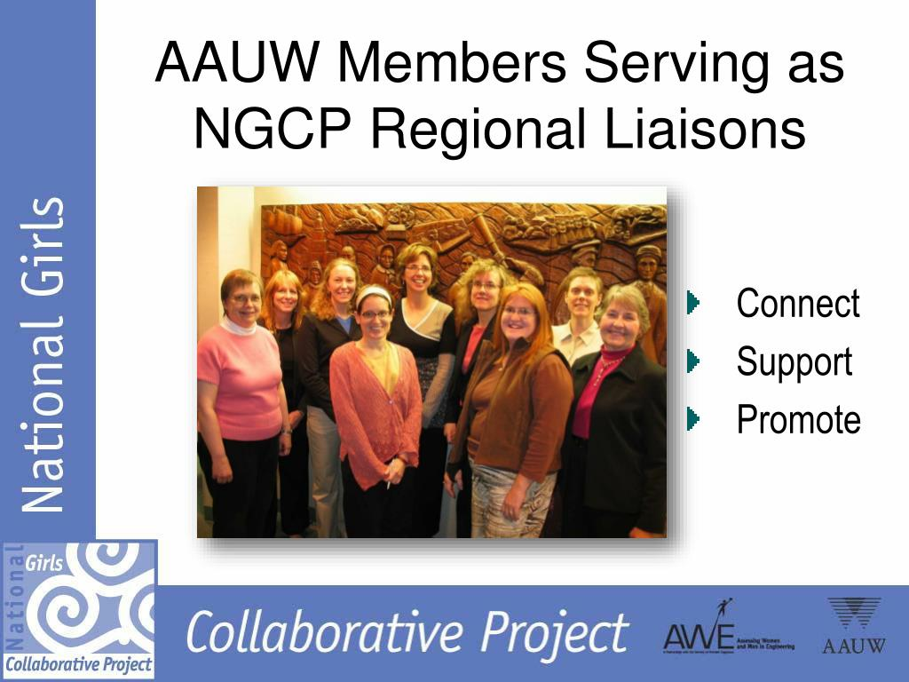 AAUW Members Serving as NGCP Regional Liaisons