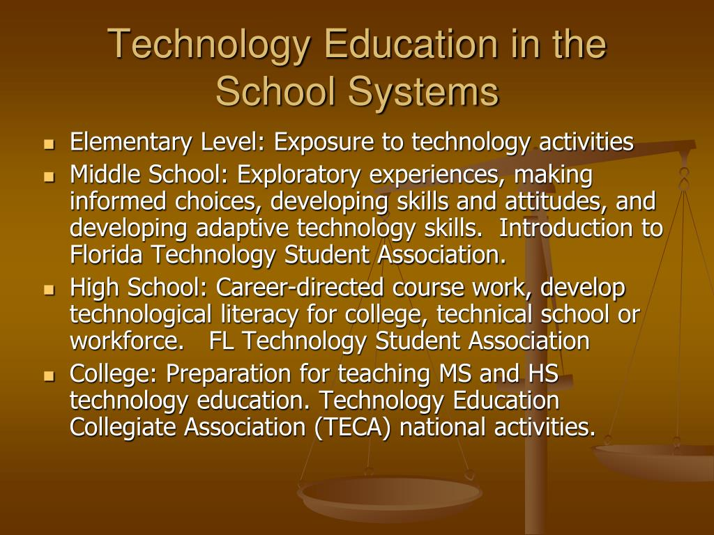 Technology Education in the