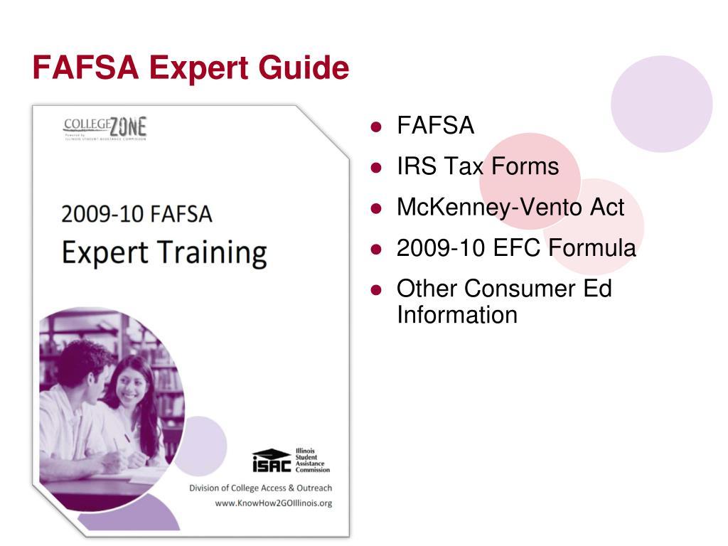 FAFSA Expert Guide