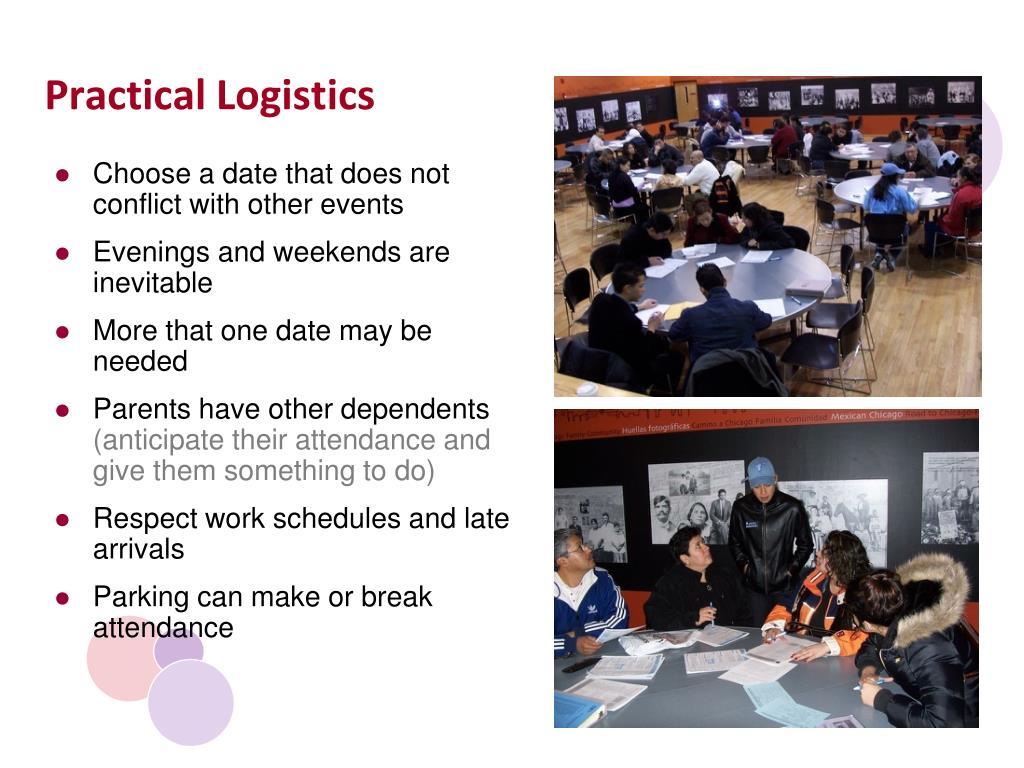 Practical Logistics