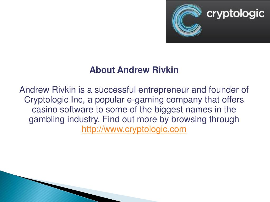 About Andrew Rivkin