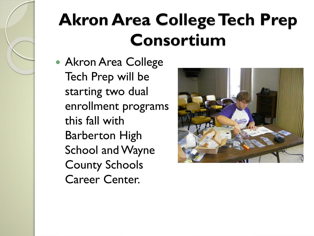 Akron Area College Tech Prep Consortium