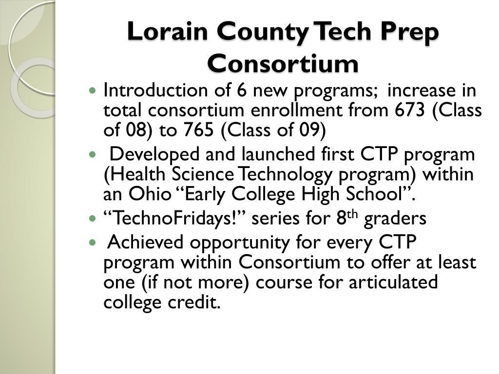 Lorain County Tech Prep Consortium