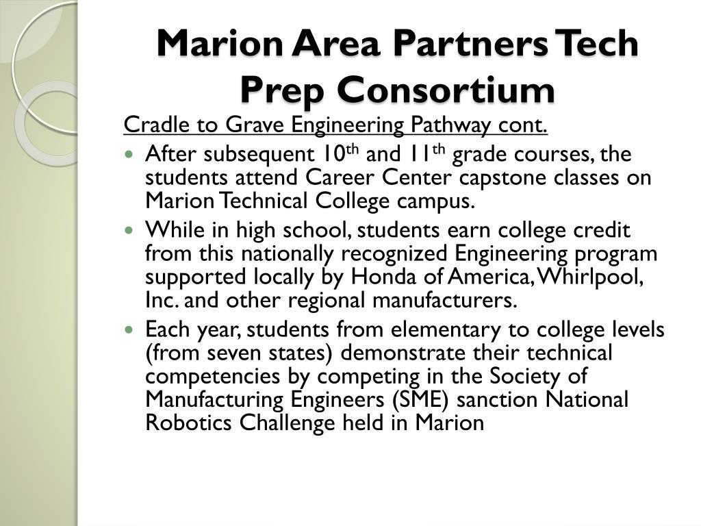 Marion Area Partners Tech Prep Consortium
