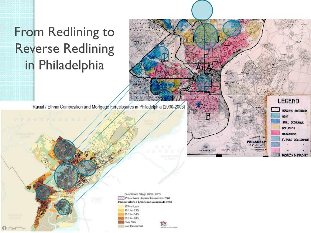 From Redlining to Reverse Redlining in Philadelphia