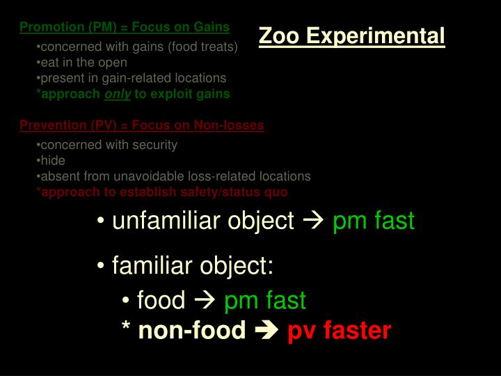 Zoo Experimental