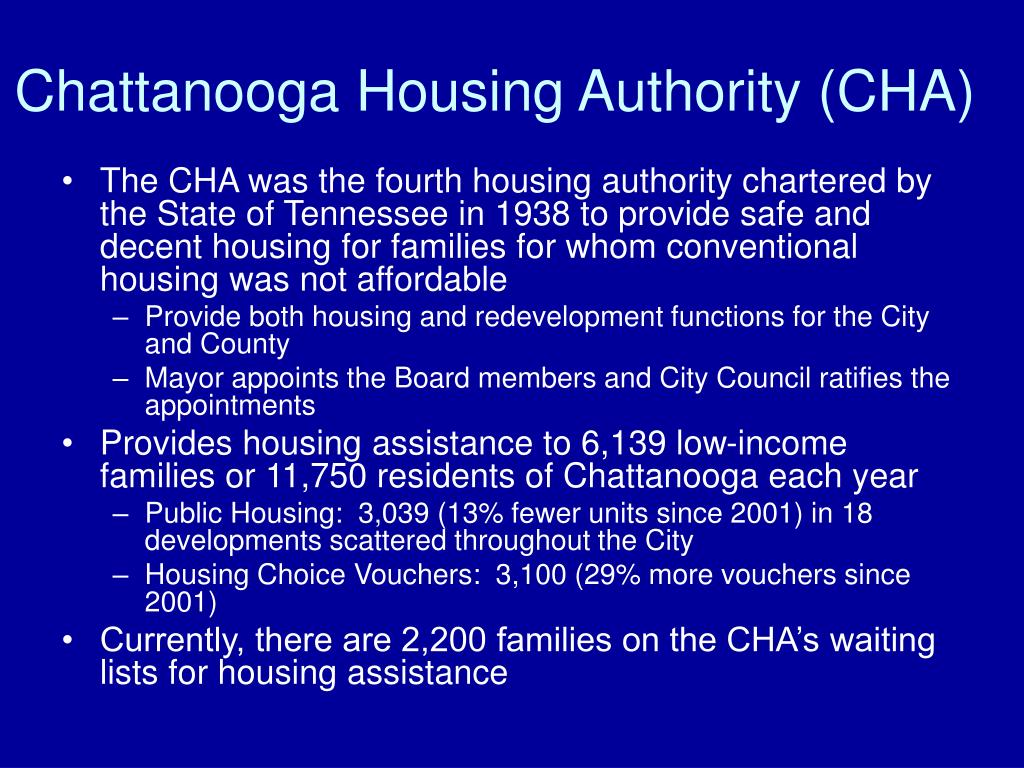 Chattanooga Housing Authority (CHA)