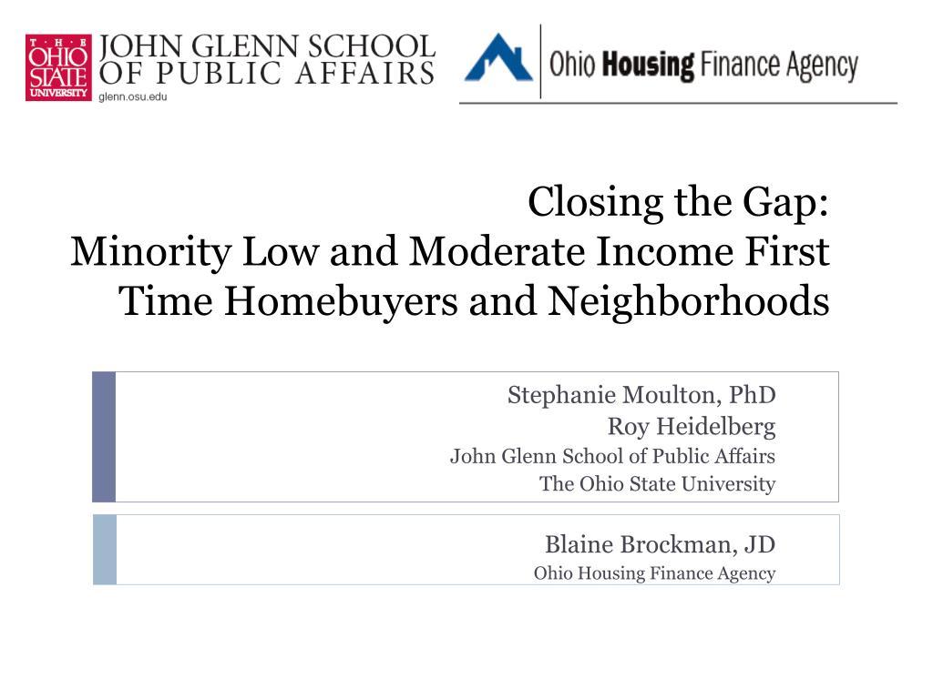 Closing the Gap: