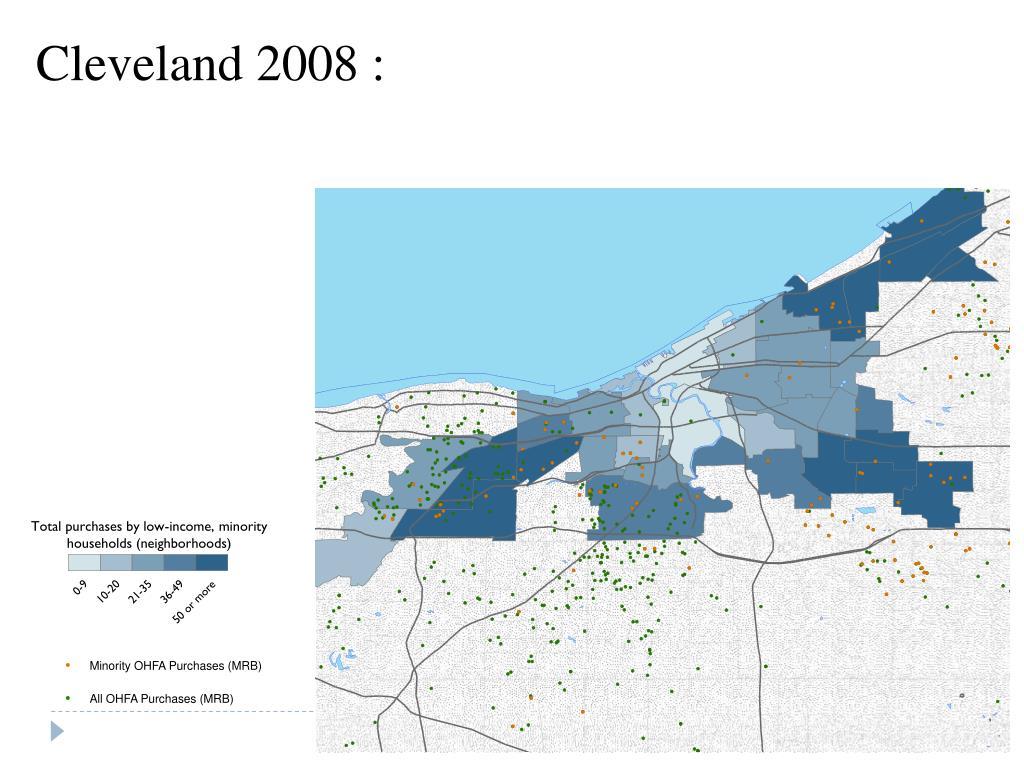 Cleveland 2008 :