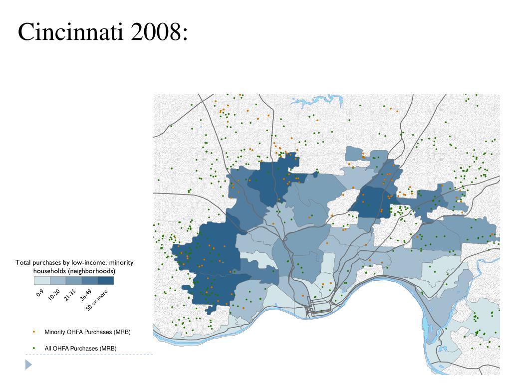 Cincinnati 2008: