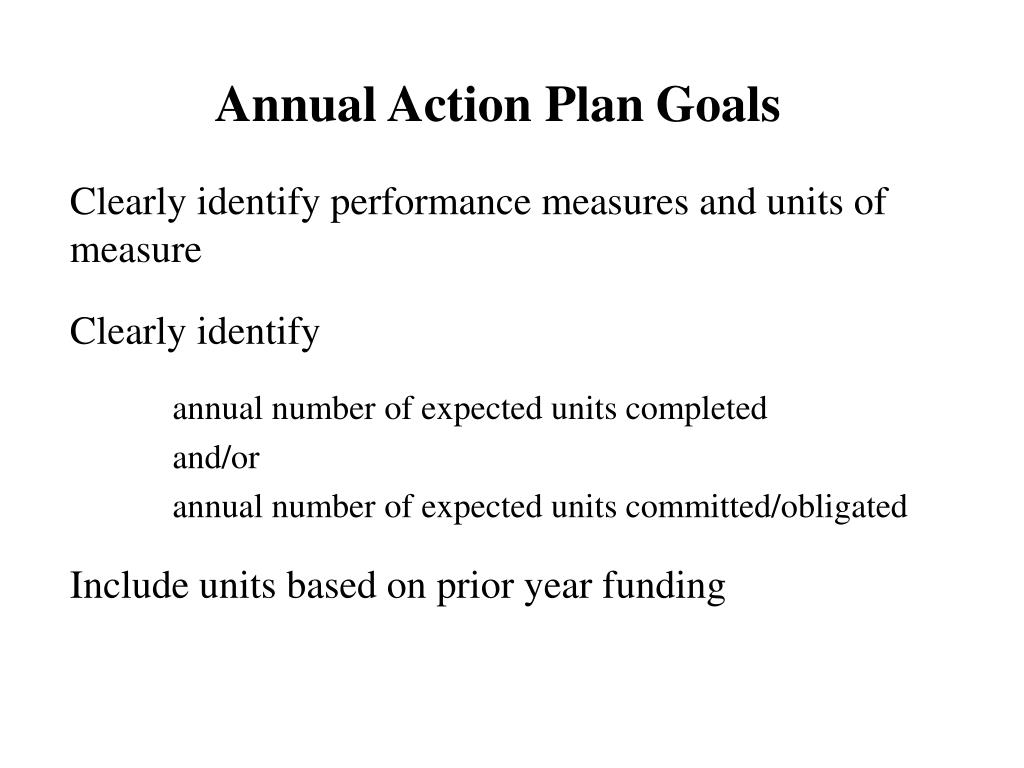 Annual Action Plan