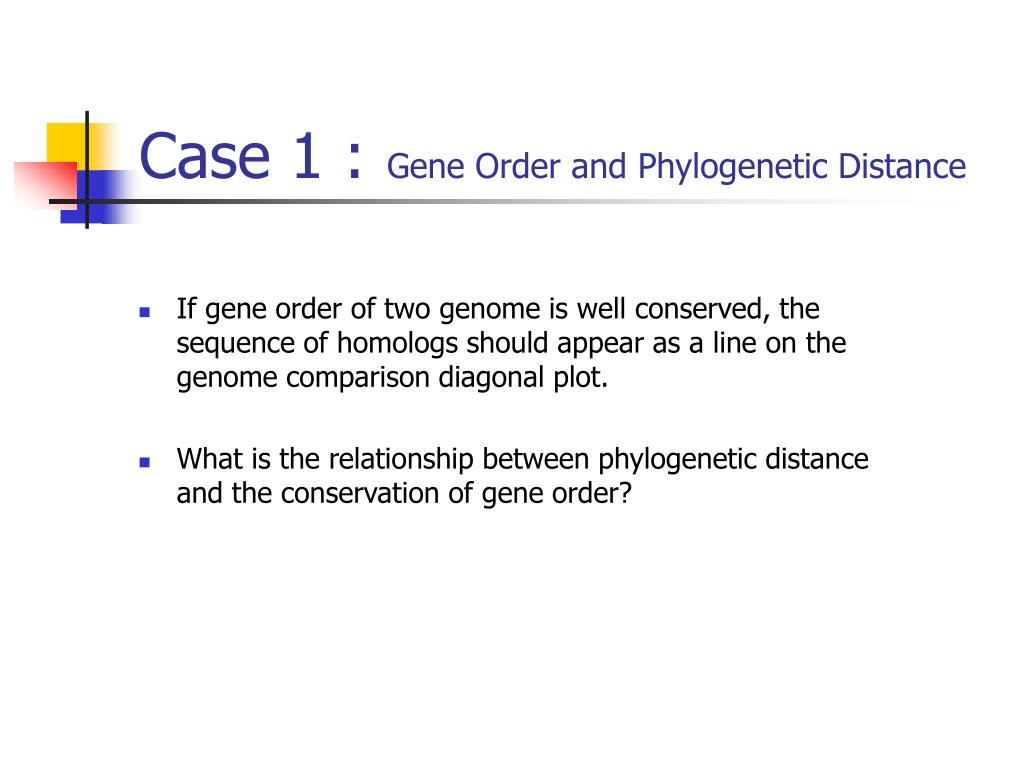 Case 1 :