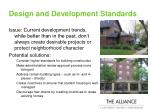 design and development standards