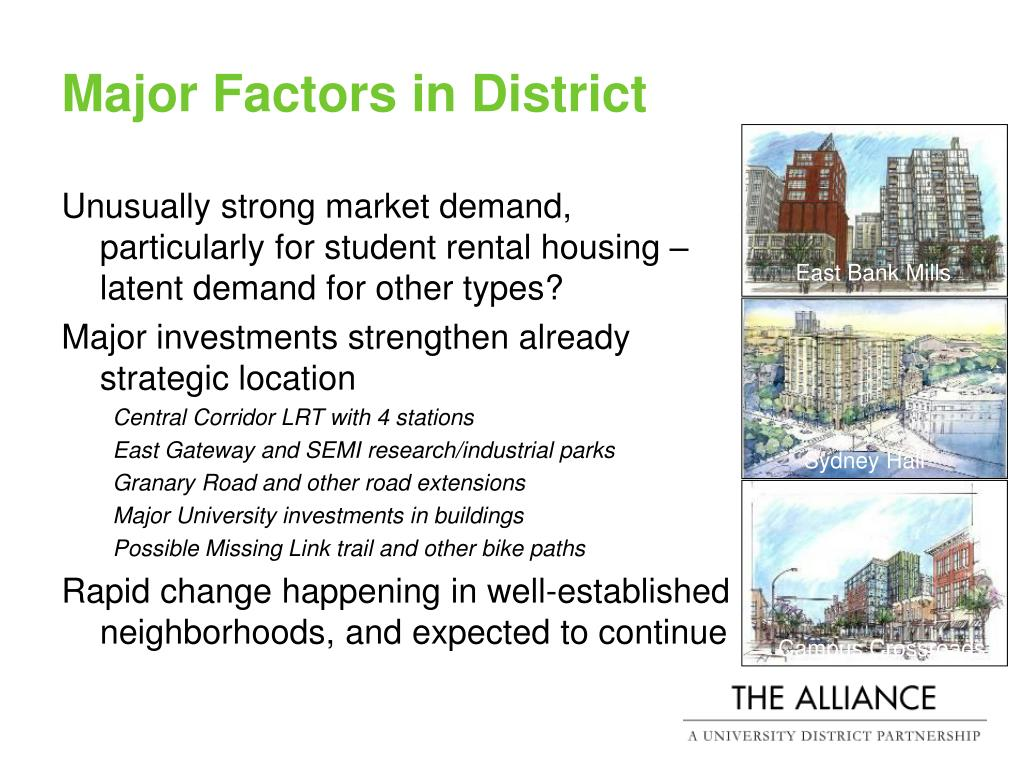 Major Factors in District