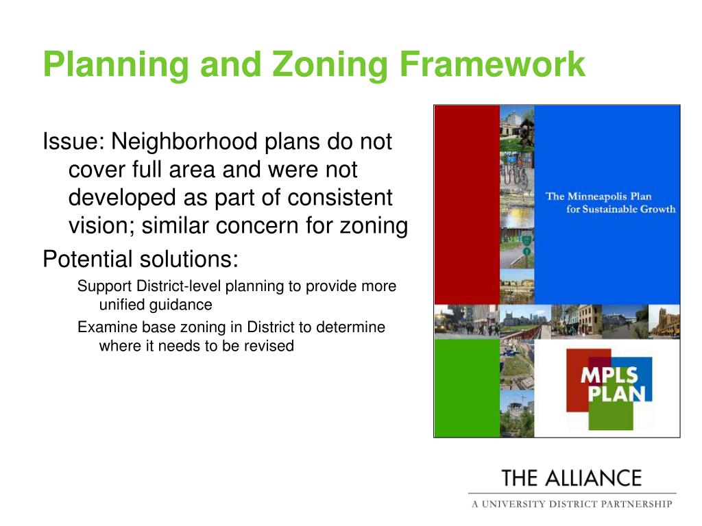 Planning and Zoning Framework
