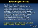 smart neighborhoods