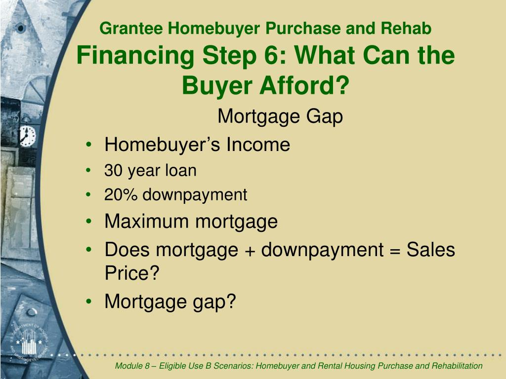 Mortgage Gap