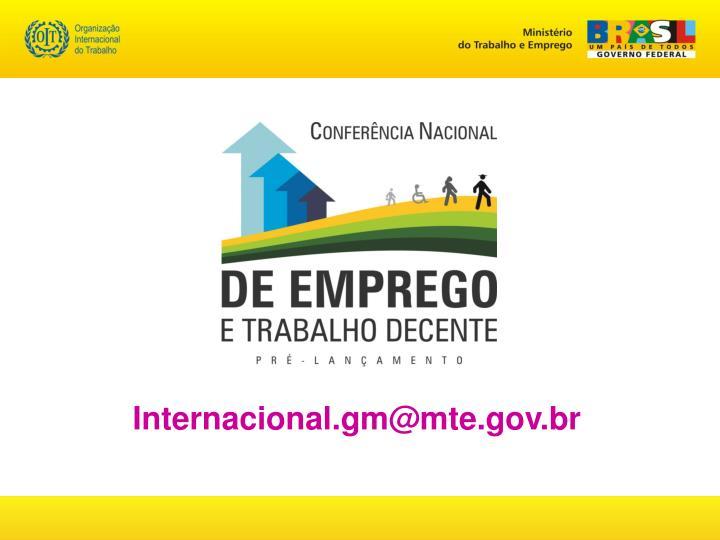 Internacional.gm@mte.gov.br