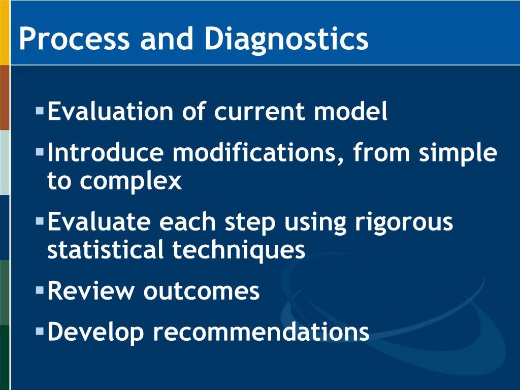 Process and Diagnostics