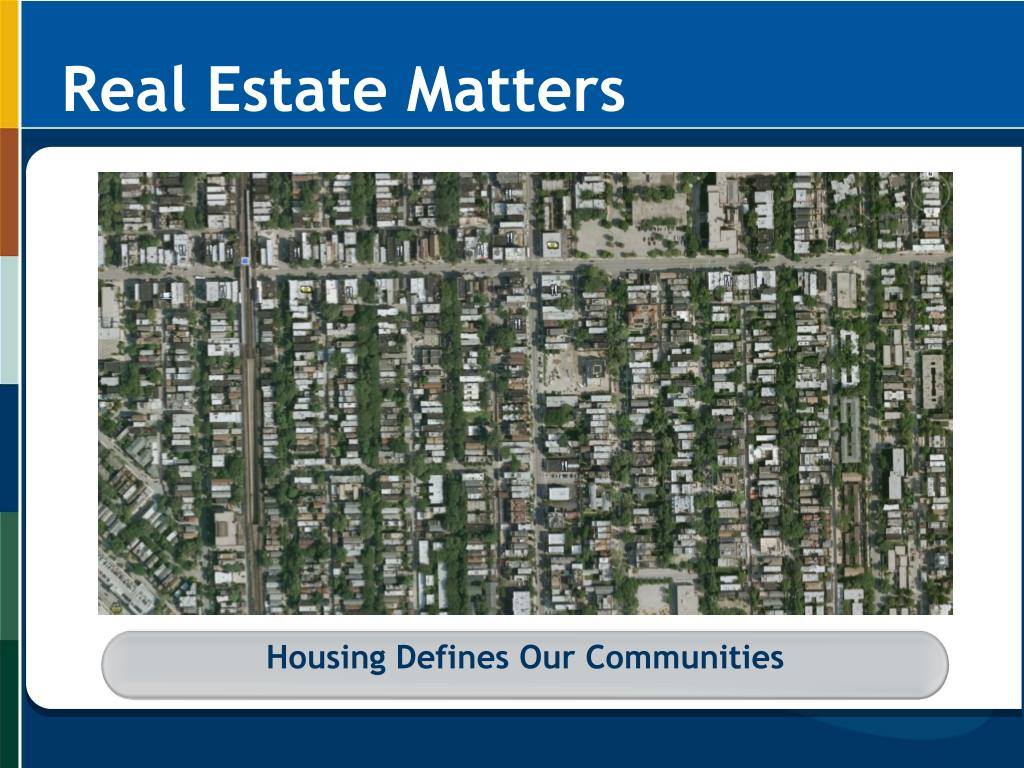 Housing Defines Our Communities