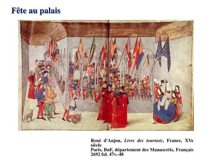 Fête au palais
