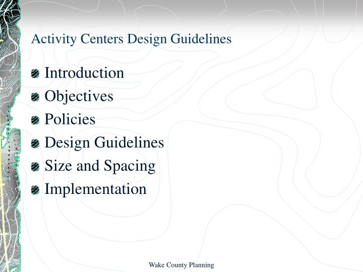 Activity centers design guidelines2
