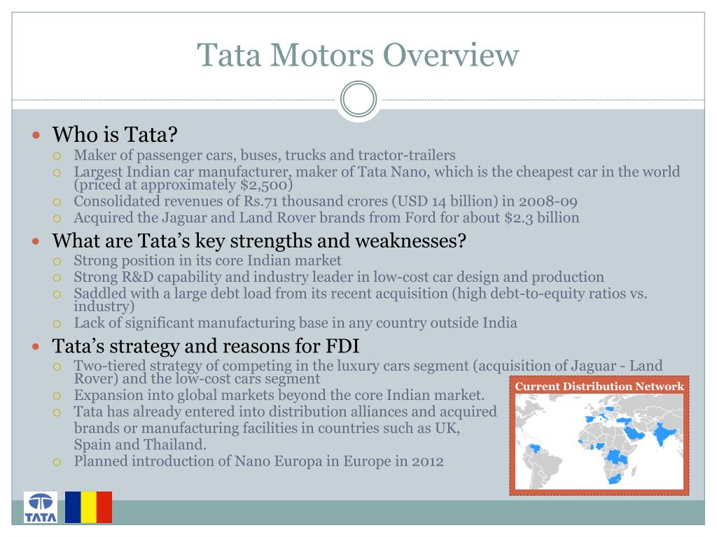 Tata Motors Overview