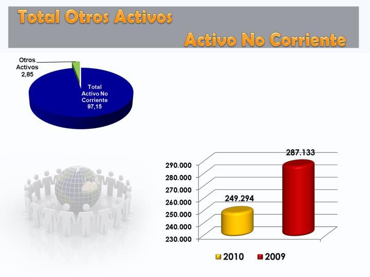 Total Otros Activos