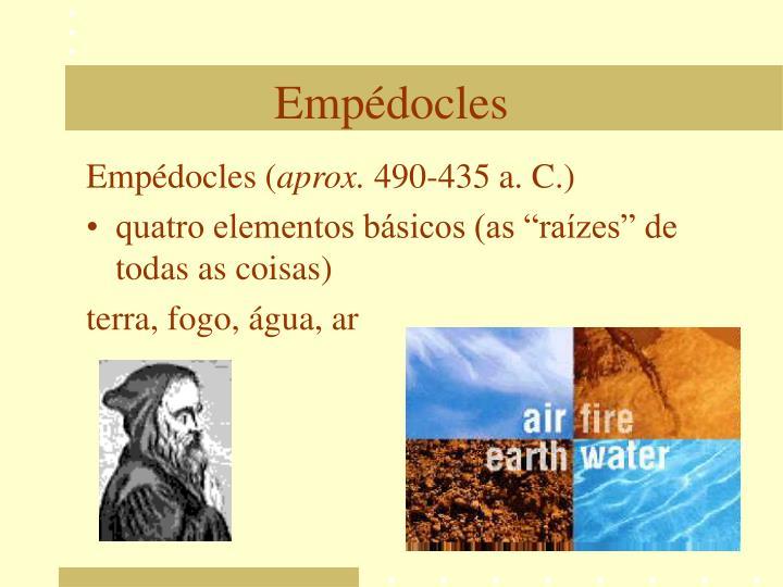 Empédocles (