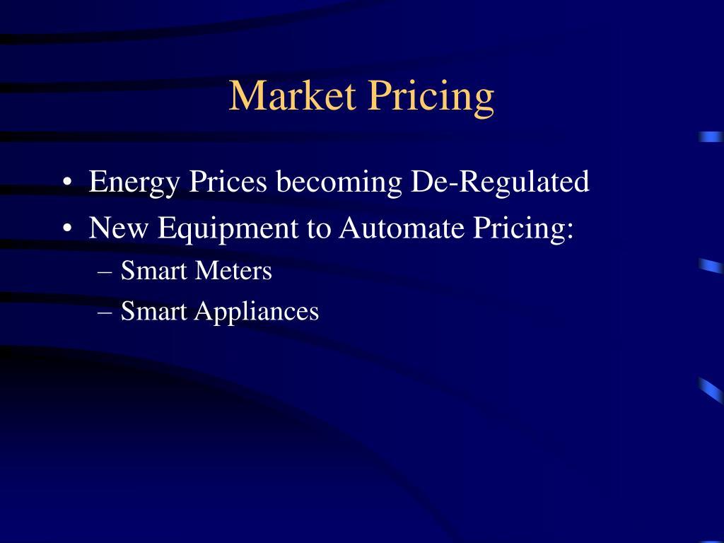 Market Pricing
