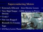 superconducting motors