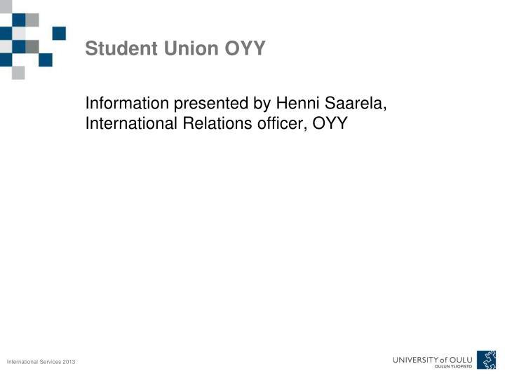 Student Union OYY