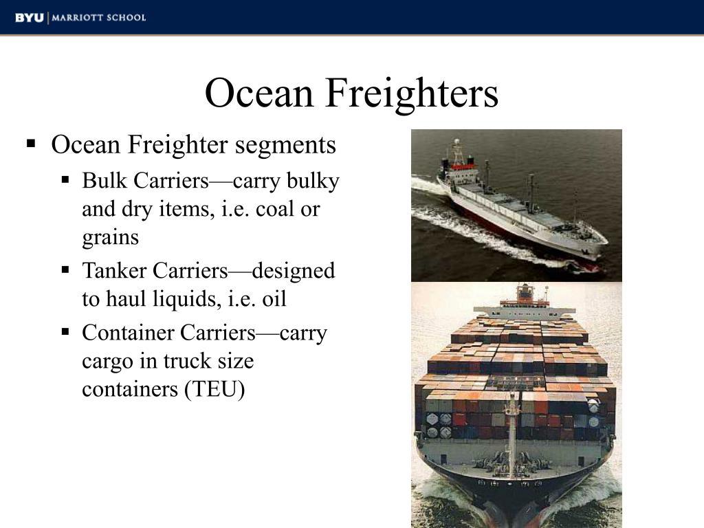 Ocean Freighters