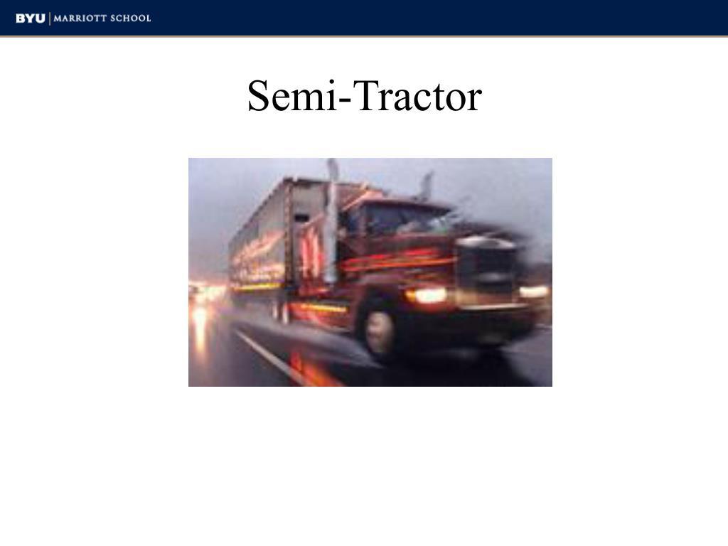 Semi-Tractor