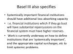 basel iii also specifies