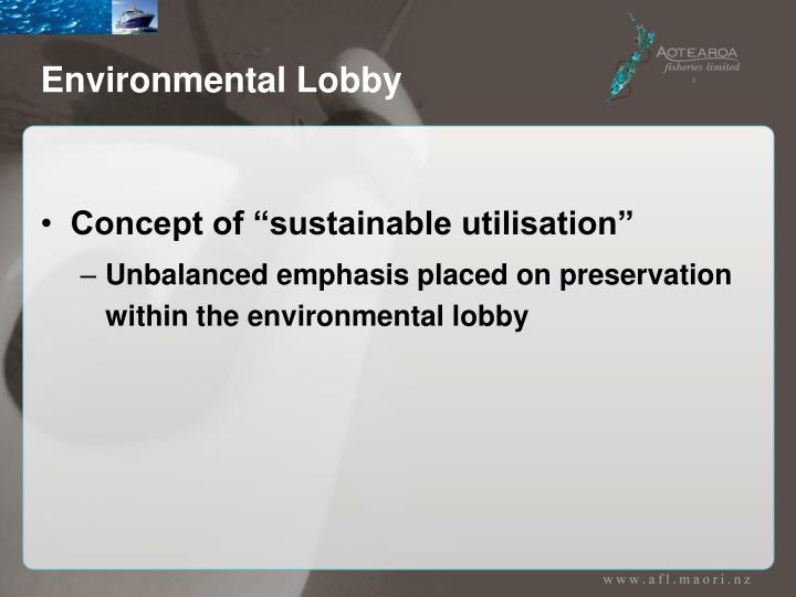 Environmental Lobby