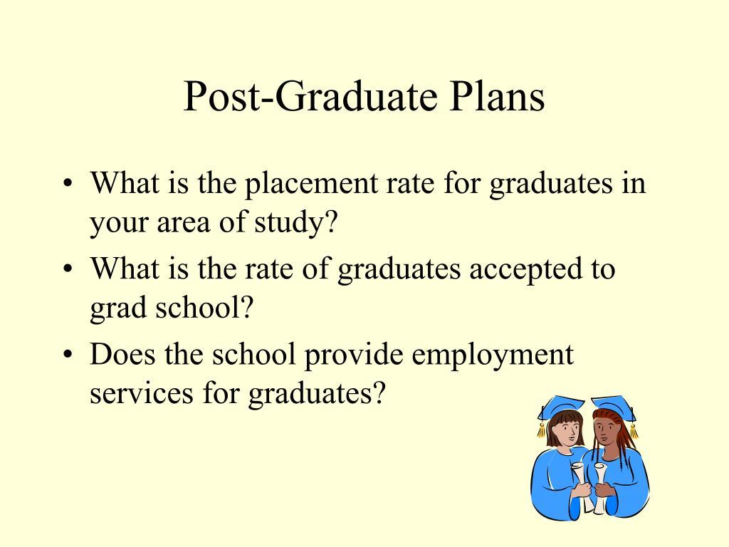 Post-Graduate Plans