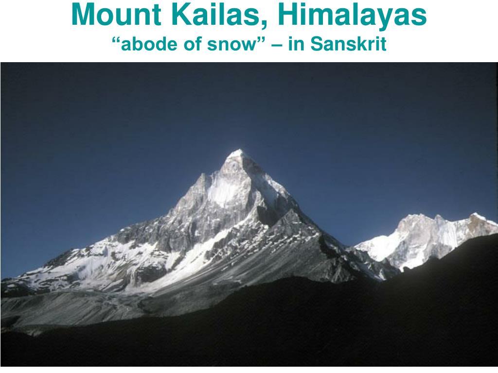 Mount Kailas, Himalayas